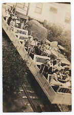 1920s Rppc Postcard People at Summit Mt Manitou Co