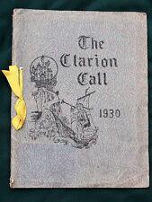 Eugene Oregon Santa Clara High School 1930s 1st yearbook + 30 school newsletters