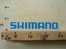 STICKER,DECAL SHIMANO LOGO BLUE FIETSEN WIELRENNNEN CYCLES ? A