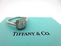 Tiffany & Co Platinum Legacy Diamond Engagement Ring .78Ct G-VVS1