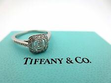 Tiffany & Co Platinum Legacy Diamond Engagement Ring .78Ct G-VVS1