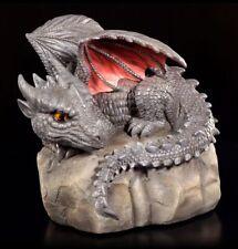 Figura de jardín - Dragón volatilus PIEDRA - Colorido Fantasía Decoración
