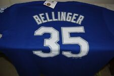 a9b87dd2485 Majestic LA Dodgers Cody Bellinger 35 2017 World Series T Shirt Large Blue