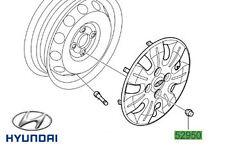 Genuine Hyundai i10 Steel Wheel Nut - 529503Y000