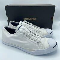Converse Jack Purcell Ox L/S Low Canvas White Casual Shoes 146430C