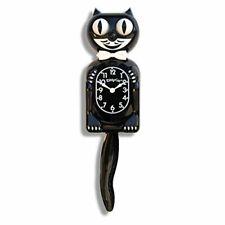 Felix The Cat Classic Wall Clock Black Eyes Pendulum Tail Rolls Wags Batteries