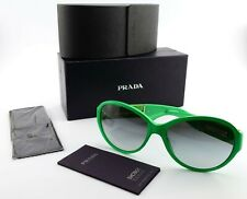 CHANEL Sonnenbrille 5229 Q 1344 59[]16 135 Lady Green c2012 + Luxury Prada Case