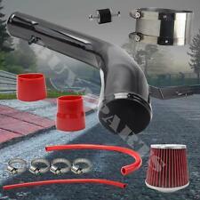 2003-2007 Honda Accord V6 Black Piping Cold Air Intake System Kit w/ Air Filter