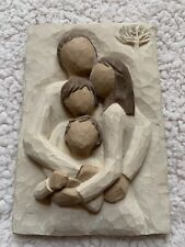"""Willow Tree Family """"A lifetime of love� Ornament Plaque Susan Lordi Demdaco"""