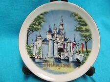 "Vintage 4"" Disneyland Plate Walt Disney Productions Wall Hung"