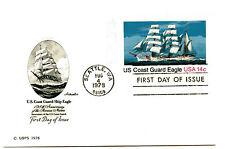 UX76 14c US Coast Guard Eagle, Artmaster, FDC