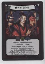 2006 Legend of the Five Rings CCG - Rise Shogun #59 Soshi Tabito (Foil) Card 4k2