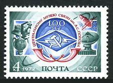 Russia 4014, MNH. Popov Central Museum of Communications.Antenna,Satellite,1972
