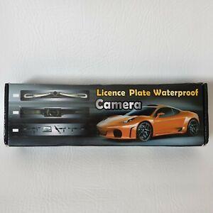 Backup Camera Waterproof License Plate View Night Vision Car Reverse Rear