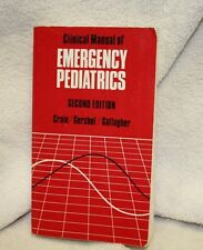 Clinical Manual of Emergency Pediatrics Second Edition  1992