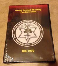 Israeli Combat Shooting Fundamentals ICS-1000 Instructional DVD NEW fact sealed