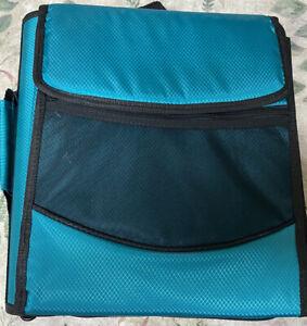 "Pock-It Plus Ultimate Organizer 4"" Zipper Binder Teal w/Chromebook Case"