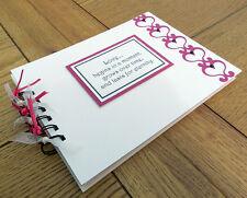 Regalos de San Valentín Amor Corazones, Scrapbook álbum, libro de memoria, personalizable