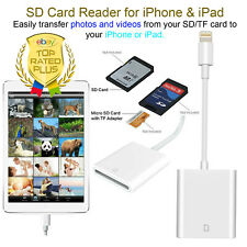 Brand NEW Camera Card Viewer SD Card Reader Adapter for iPhone iPad