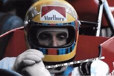9x6 Photograph, Nanni Galli , F1 Tecno PA123 Portrait  1972 Grand Prix Season