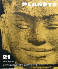 Planète n°21 - 1965 - L'Art abstrait - Doteur Sorge - Ruines bleues Nan Matal