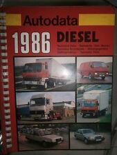 livre données techniques véhicules diesel 1976 à 1986 Autodata