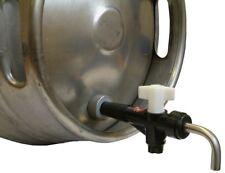 More details for cask ale tap beer barrel tap keg tap turn down racking tap nut and hop strainer
