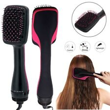 Professional One-Step Hair Blower Dryer Styler Smooth Brush Ionic Straightener