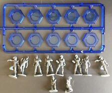 Mantic Games Dreadball plastic Kalyshi team (8 players, 2 prone).
