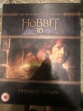 The Hobbit: The Motion Picture Trilogy 3D + 2D Extended [Blu-ray] [Region Free]