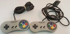 Lot of 2 Super Nintendo Controllers ~Super Pad by Performance~ ~USED~ SNES
