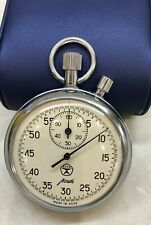 Stopwatch Mechanical AGAT 4295B.(1716) USSR.Two-button.16 stones.1981.