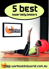 Toning EXERCISE DVD - Barlates Body Blitz - 5 Best Lower Belly Exercises!