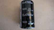 Yageo 47000Uf 16V 85C Snap In Capacitor New Lot Quantity-5