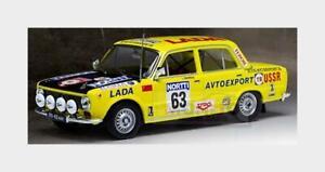 Lada Fiat 1300 #63 Rally 1000 Lakes 1975 S.Brundza A.Zvingevich IXO 1:43 RAC297