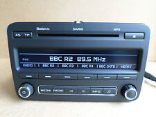 Skoda Octavia Yeti Fabia Swing Rapid Radio Stereo CD Lettore MP3 + CODICE 5J0035161D