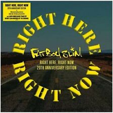 Fatboy Slim - Right Here, Right Now - 20th Anniversary Yellow Vinyl EP- RSD 2019