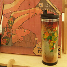 MAP, Thermos Mug travel tea coffee cup tumbler Vacuum Water Container
