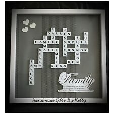 Personalised Scrabble Frame - Large Frame