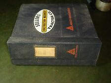 Allis Chalmers Allis Chalmers Hd16 Amp Hd21 Crawler Loader Dozer Service Manual