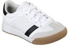 Sketchers Street Los Angeles Zinger White Tennis Sneakers Kids Retro Size 1