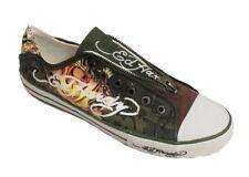 Ed Hardy Men's 10FBX102M Olive Brown Green Sneaker US 13 NOB NWD