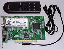 PCI TV-Karte Hauppauge WinTV 61324 S-Video Eingang, mit Fernbedienung, gebraucht