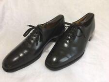 Carroll & Co. Men's Black Whole Cut Oxford Made In England Crocket Jones 8.5