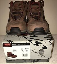 Worx by Red Wing Women's #5175 Safety Steel Toe Oil/Slip Resistant Boots size 7