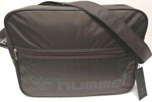 Hummel Mens Black Shoulder Bag
