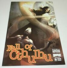 Fall of Cthulhu #0 Comic Boom Studios VARIANT IronOrc Limited to 500 1st Print