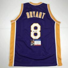 Autographed/Signed KOBE BRYANT Los Angeles Purple Basketball Jersey PSA/DNA COA