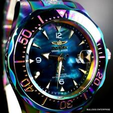 Invicta Grand Diver Iridescent Black Mother of PearlAutomatic 47mm New Watch