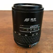 Tokina AF 28-80mm f/3.5-4.5 Auto Focus Camera Lens HD6